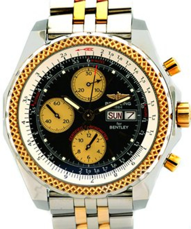 Breitling Bentley GT D1336212 Gold & Steel