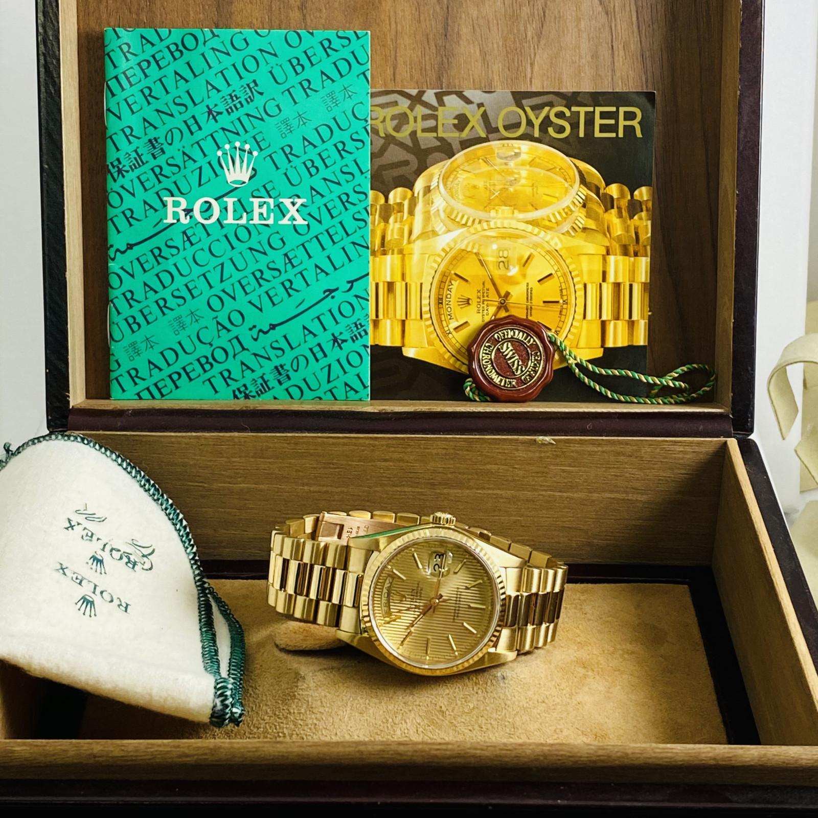 Rolex Day-Date President #18038