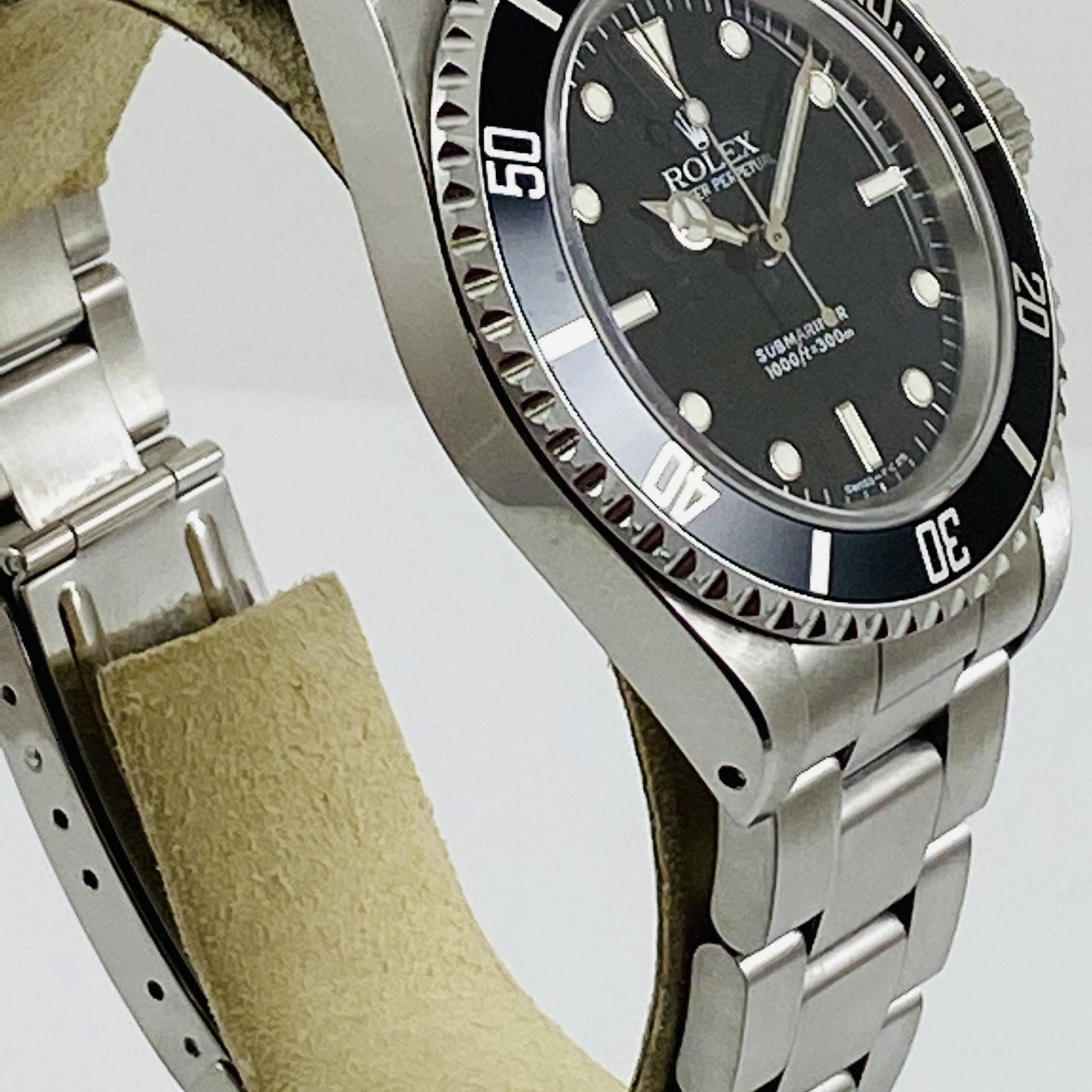 Rolex Submariner No Date Ref 14060