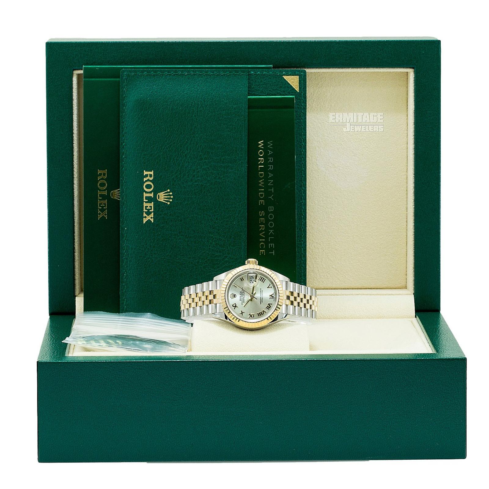 2018 Silver Rolex Datejust Ref. 279173