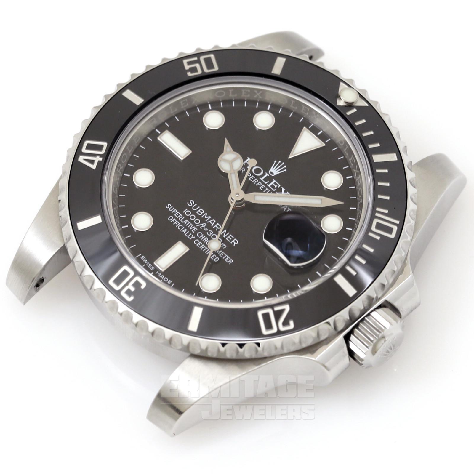 2017 Black Rolex Submariner Ref. 116610