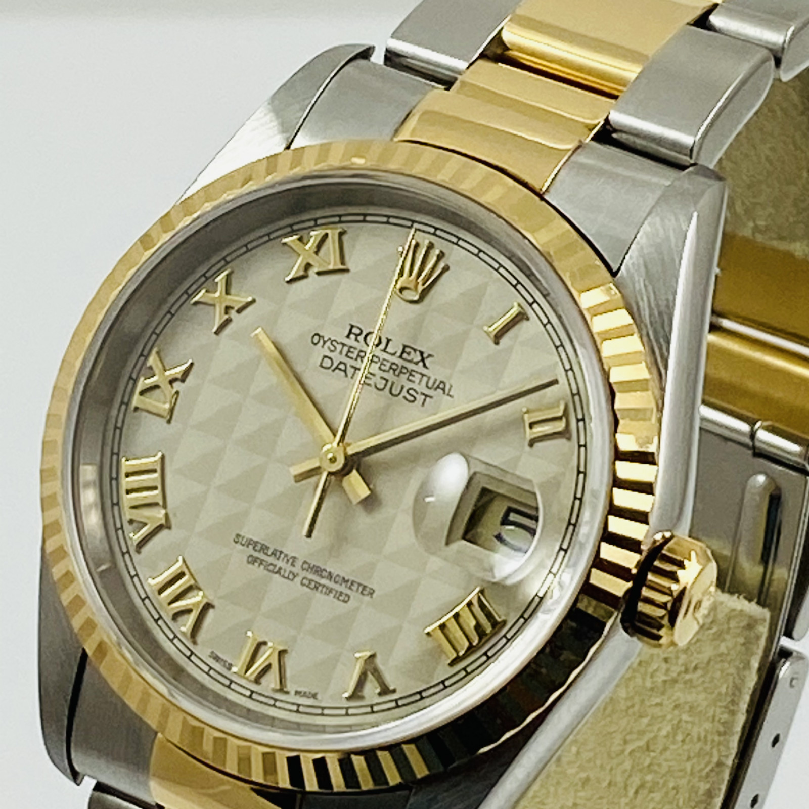 Rolex Datejust Ref. 16263 with Pyramid Dial