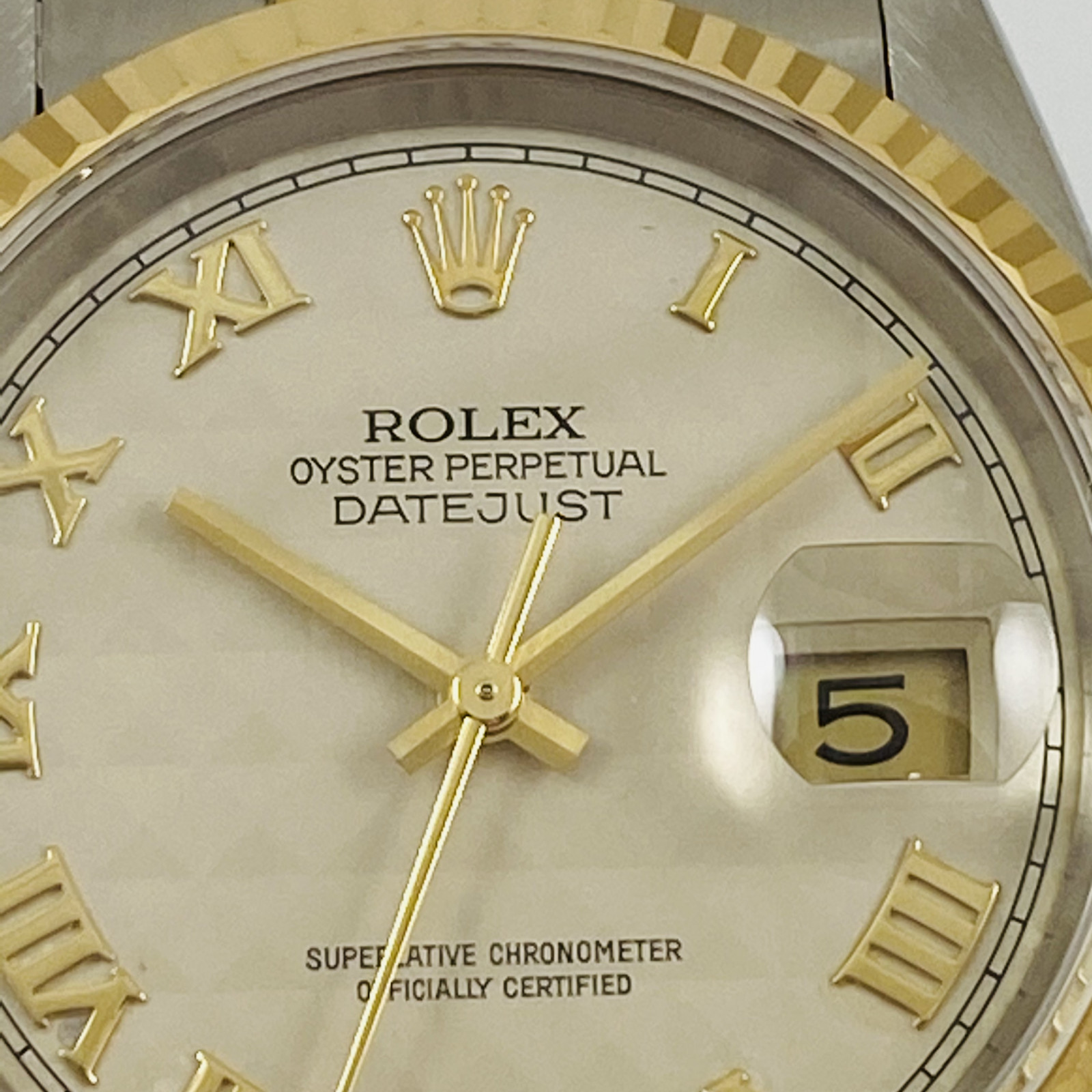 Rolex Datejust Ref. 16233 with Pyramid Dial
