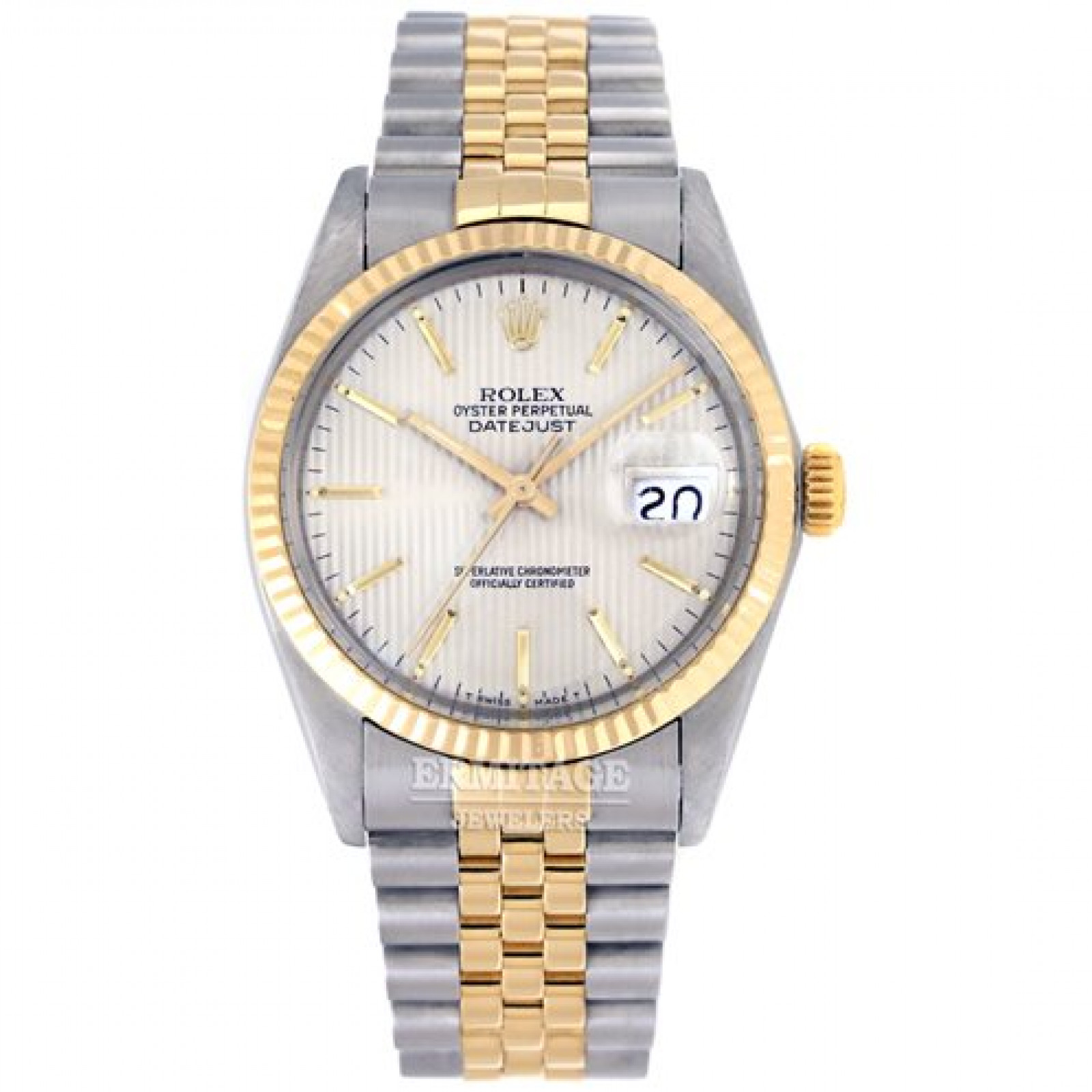 Pre-Owned Rolex Datejust 16013 Gold & Steel