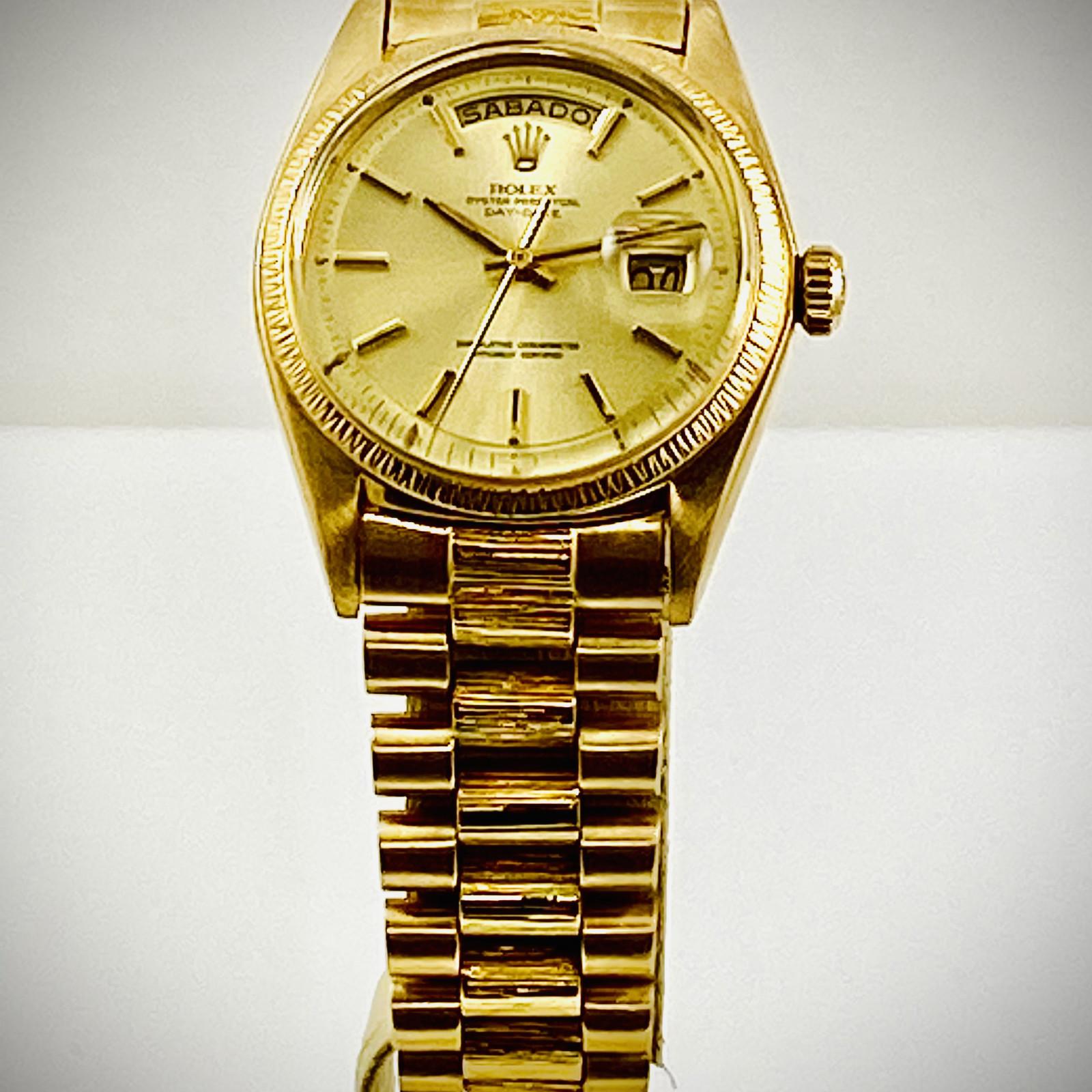 Vintage Gold Rolex Day-Date 1807