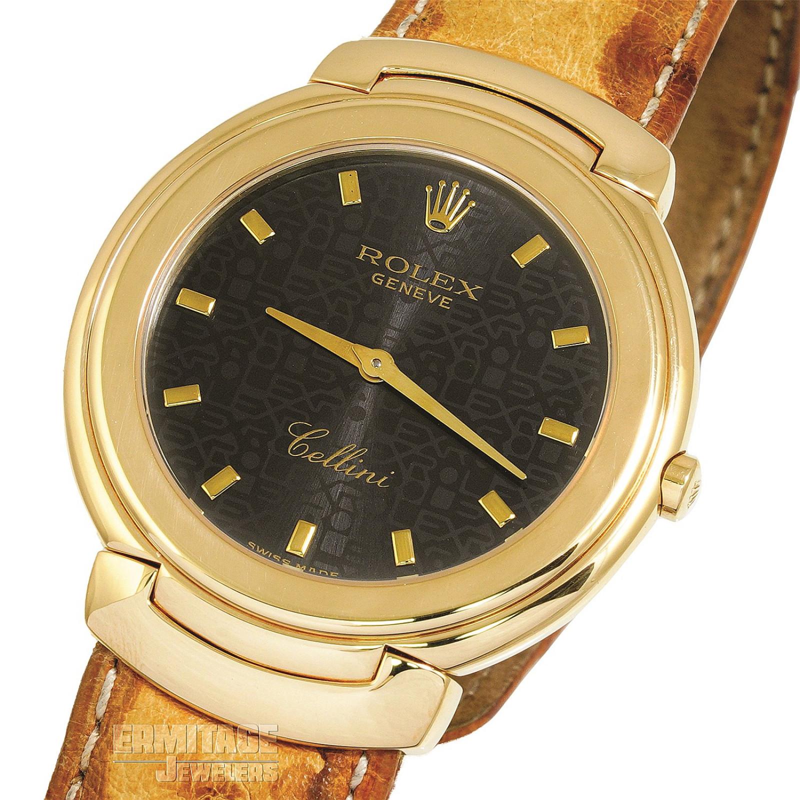 Gold Rolex Cellini Ref. 6623