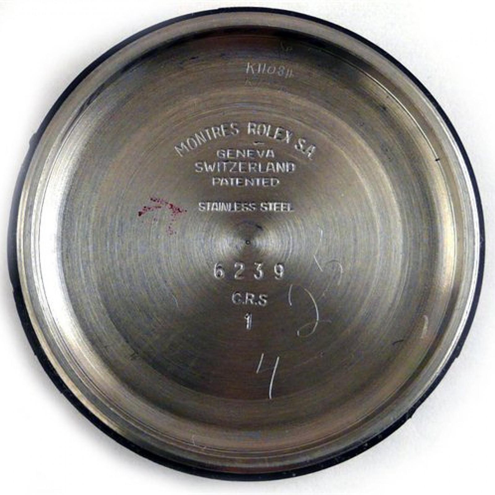 Vintage Rolex Daytona 6239 Steel with Black Dial