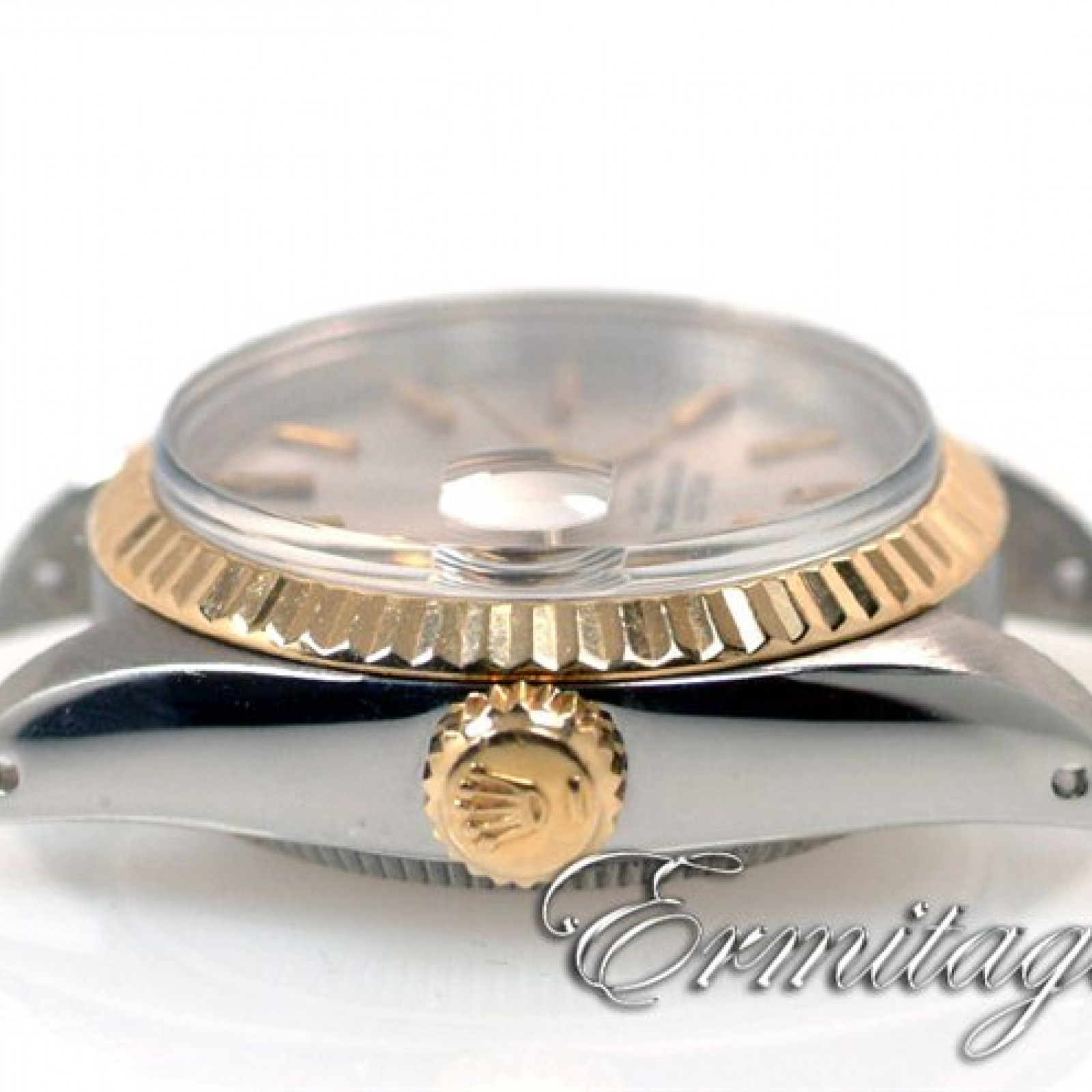 Vintage Rolex Oyster Perpetual Date 6916 Gold & Steel