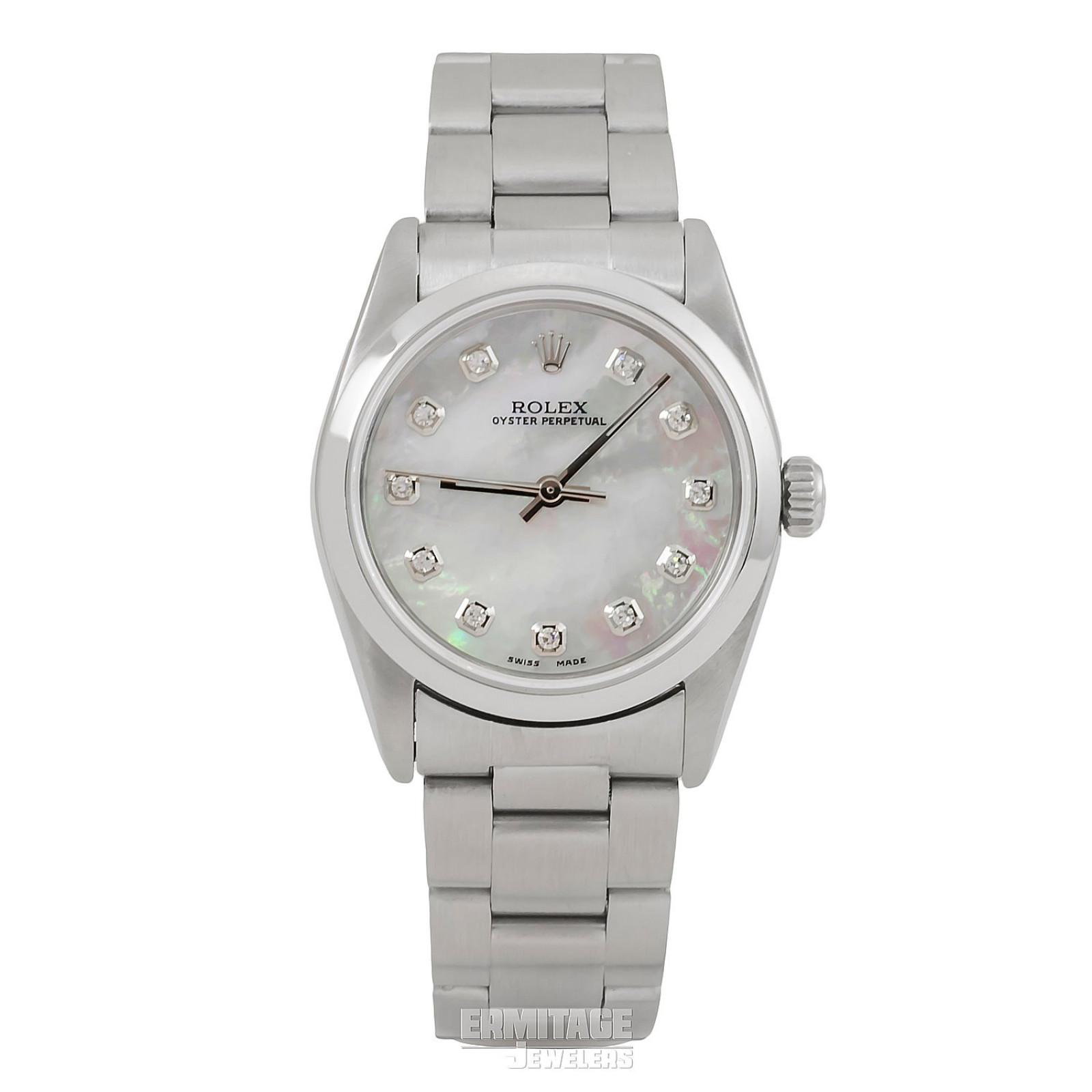 2001 Dimaond Rolex Datejust Ref. 77080