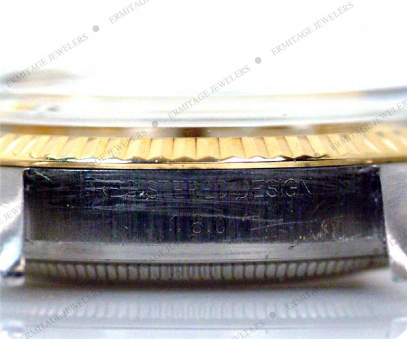 Vintage Rare Rolex Datejust 1601 Gold & Steel Circa 1972