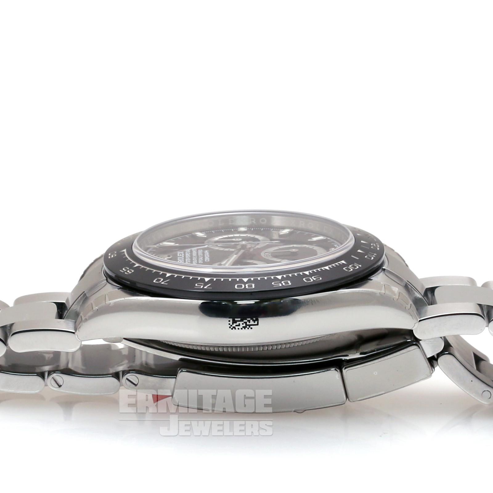 Steel on Oyster Rolex Daytona 116500 40 mm