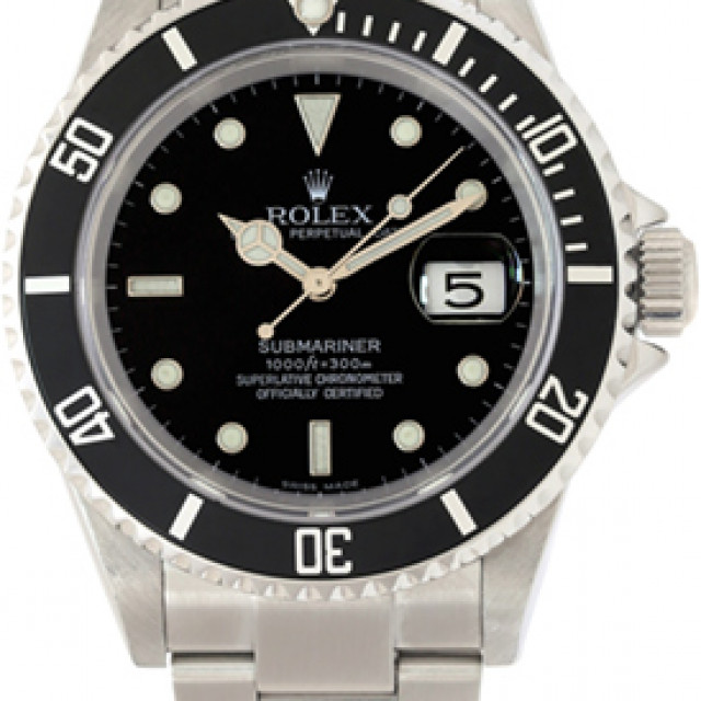 Rolex Submariner 16610 40 mm 2004