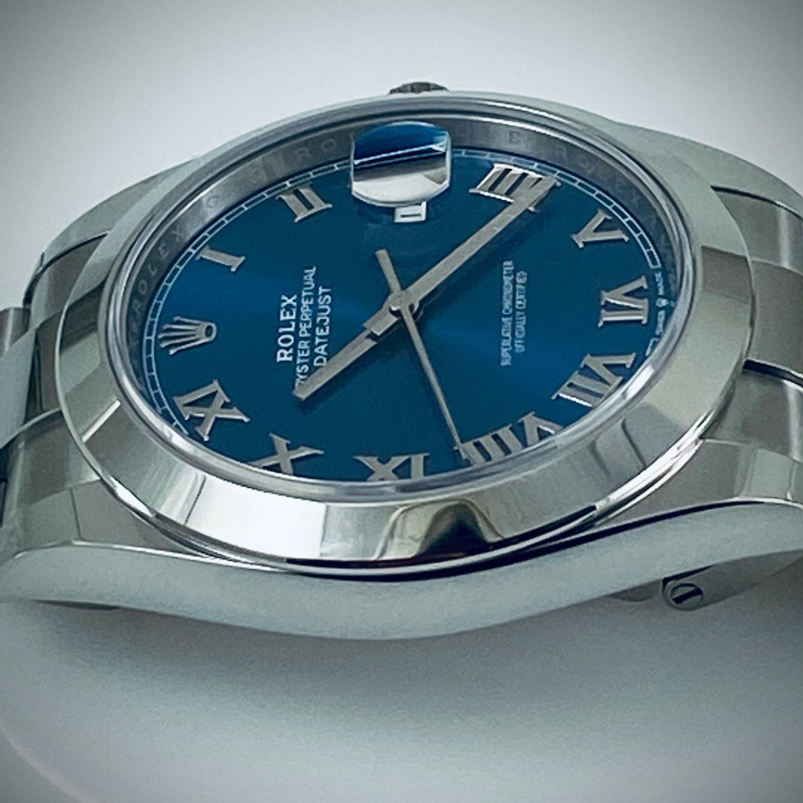 2021 Rolex Datejust 41 mm Roman Dial