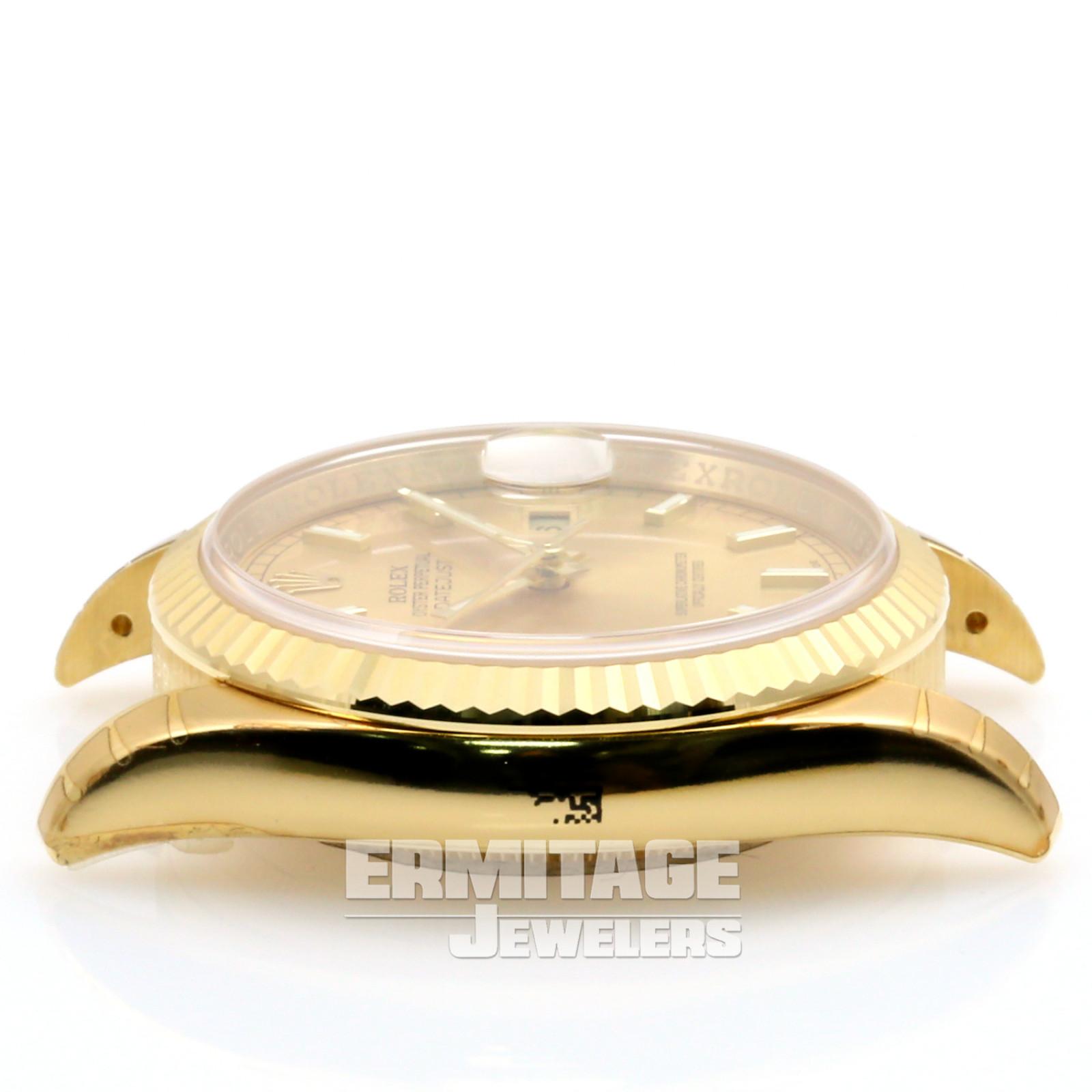 Unworn Gold Rolex Datejust 116238 in Jubilee
