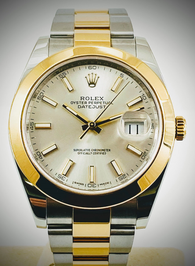 Rolex Datejust 41 126303 Stainless Steel, 18kt Yellow Gold & Stainless Steel 41 mm Luminous