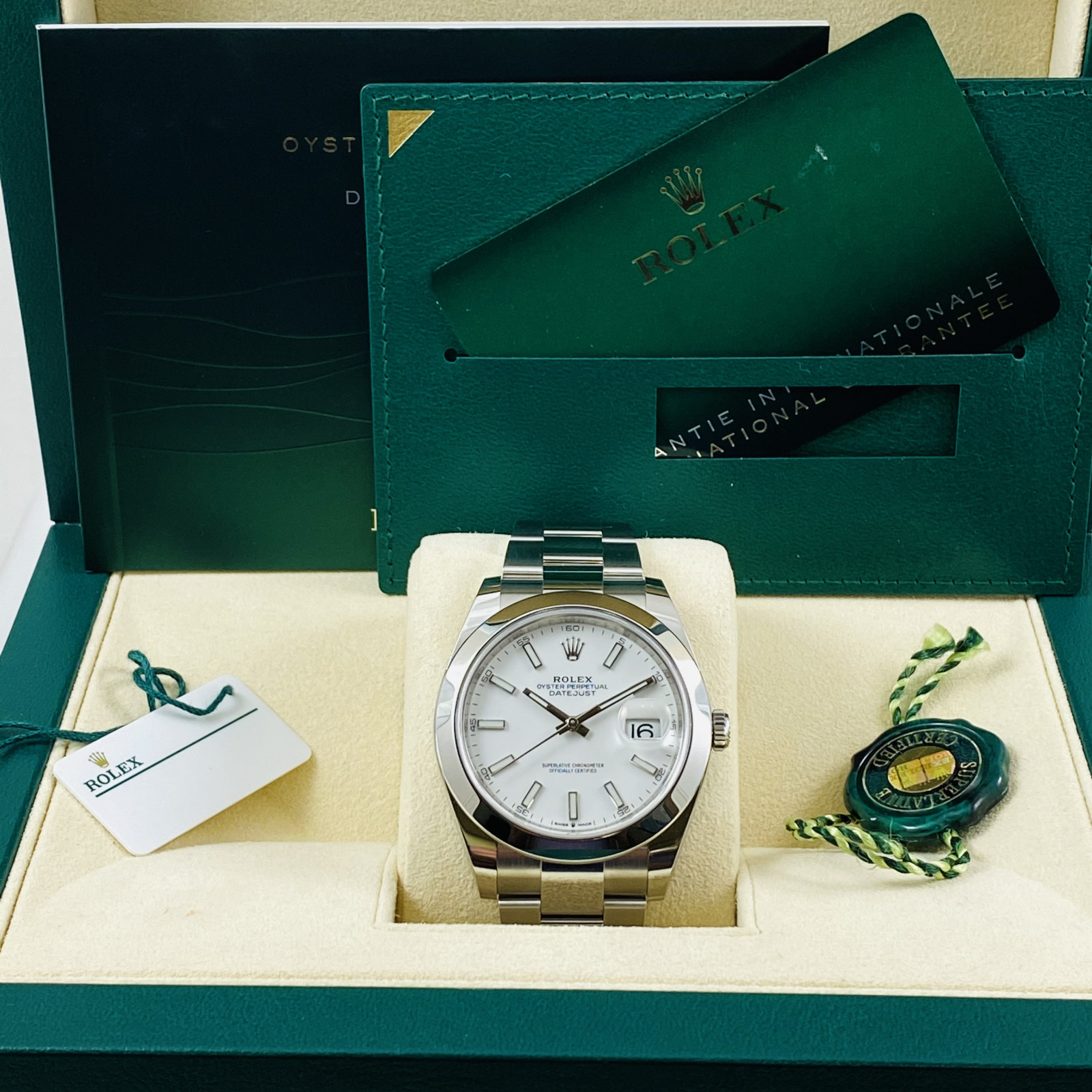 Rolex Datejust 126300 Stainless Steel 41 mm Luminous