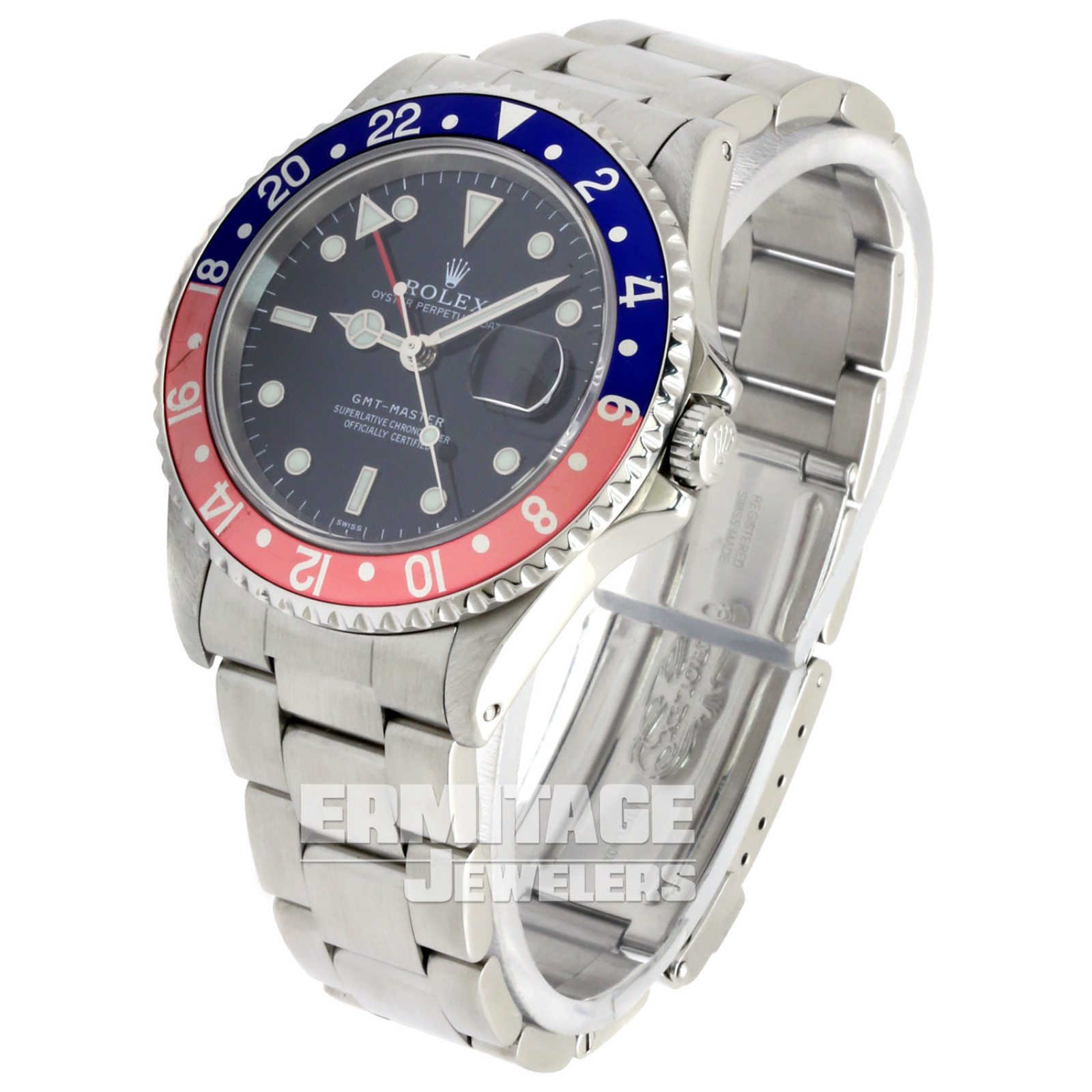 1998   Rolex GMT-Master II Ref. 16700 Mint Condition Single