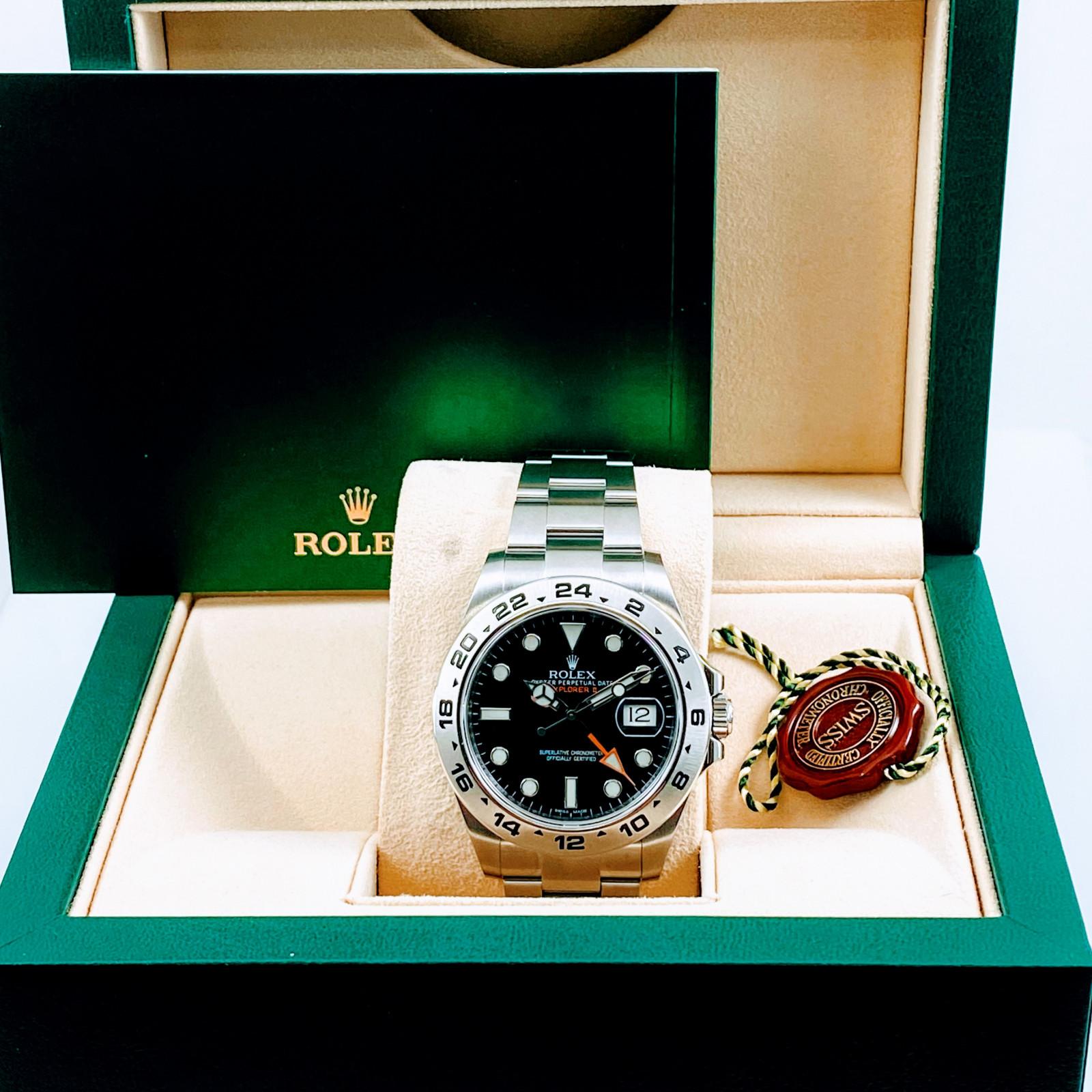 Rolex Explorer II 216570 42 mm Black