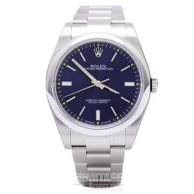 Unworn Rolex Oyster Perpetual 114300 Watch Full Set 2019