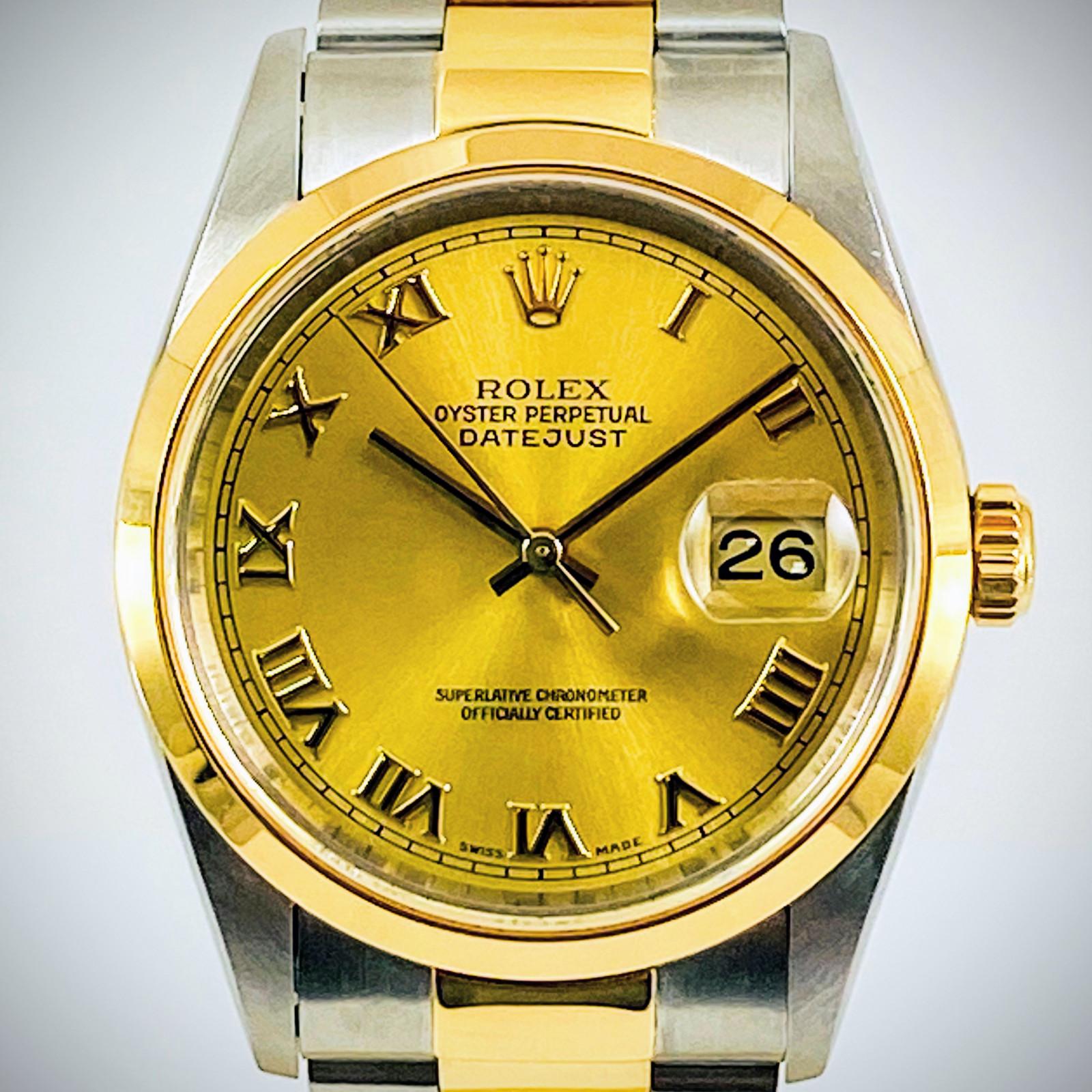 1999 Rolex Datejust 16203