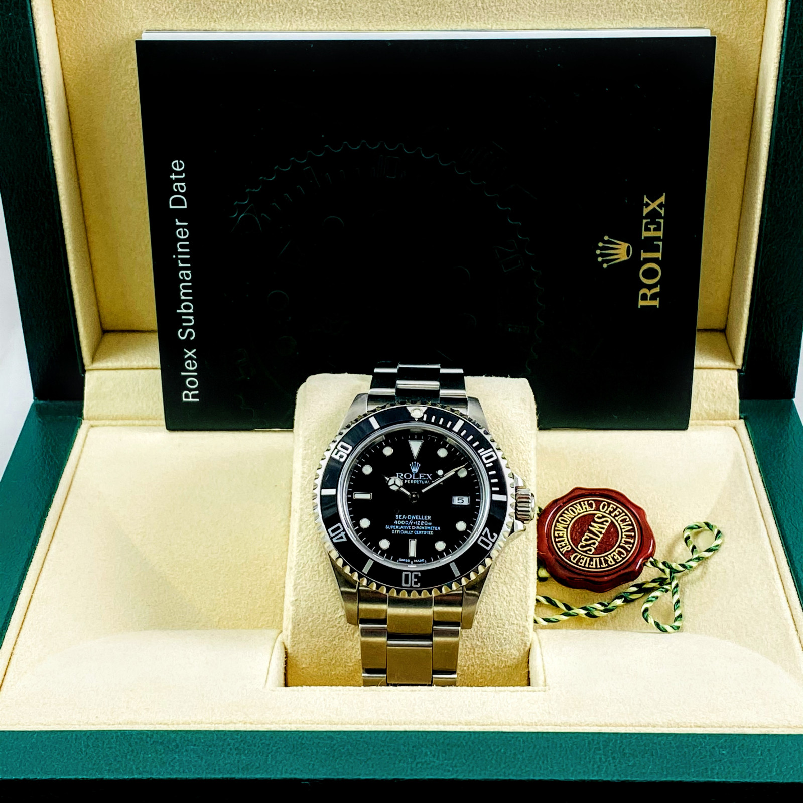 Rolex Oyster Perpetual Sea-Dweller 16600 Steel Year 2003