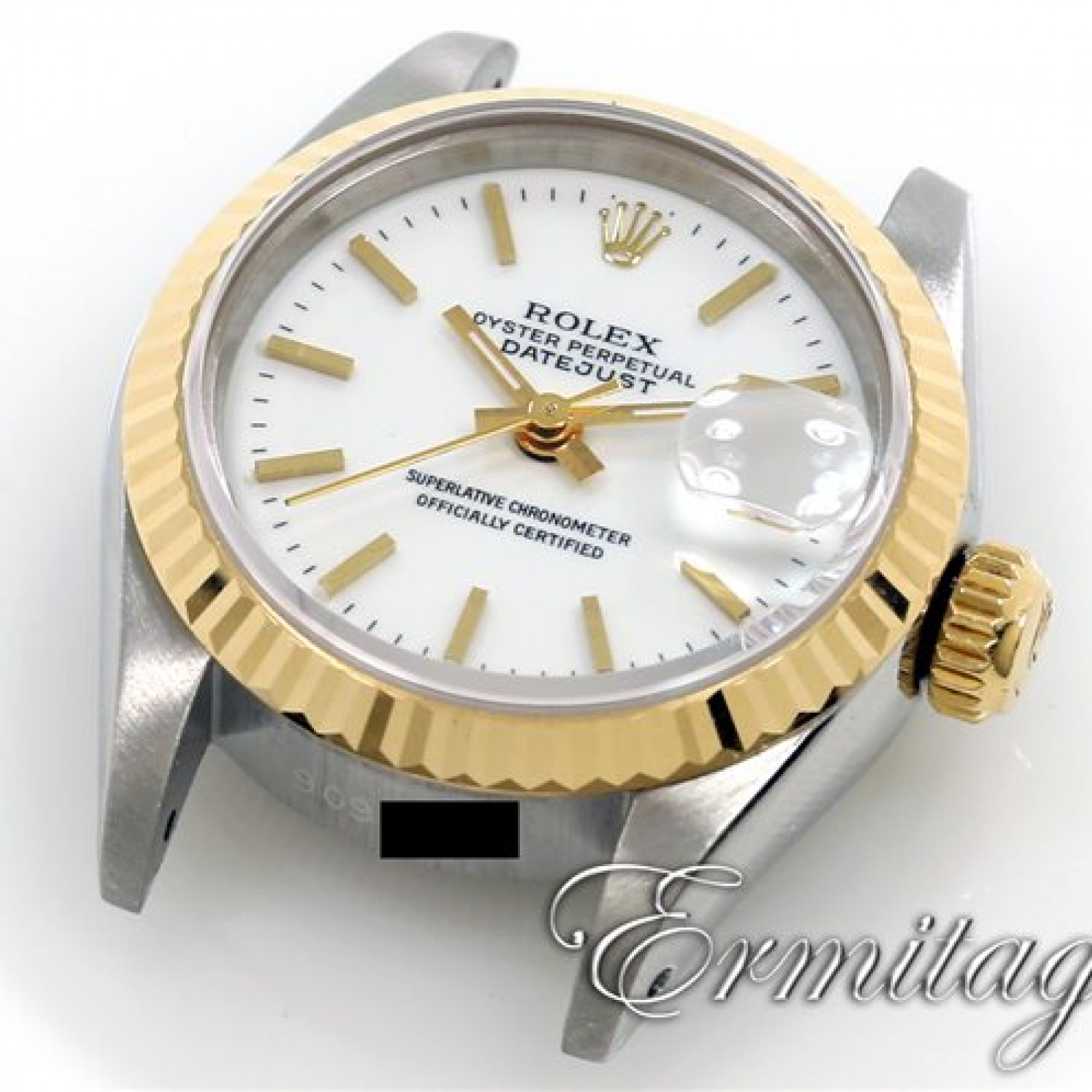 Rolex Datejust 69173 Gold & Steel  White Dial Excellent Condition