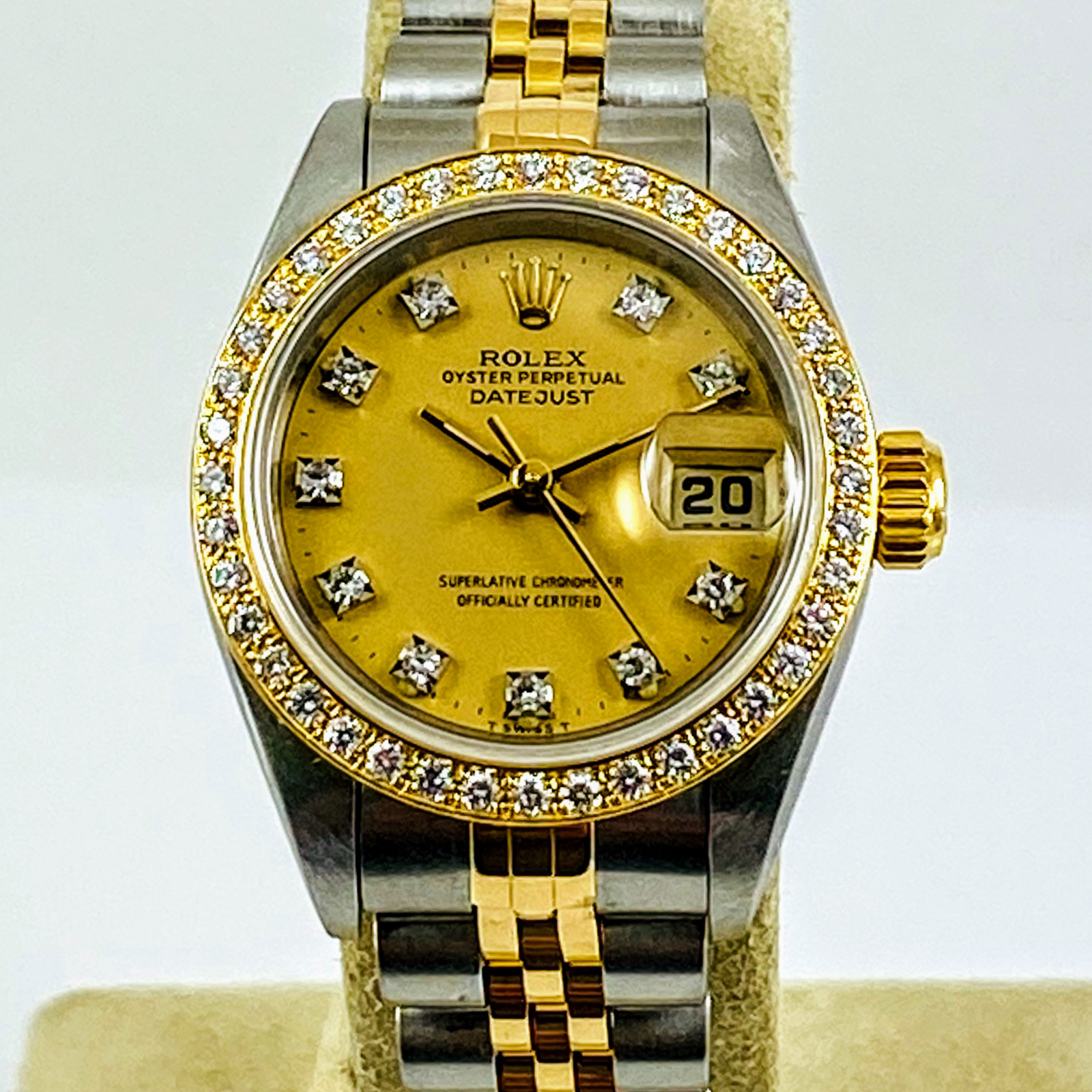 Rolex 69173 Diamond Bezel & Dial.