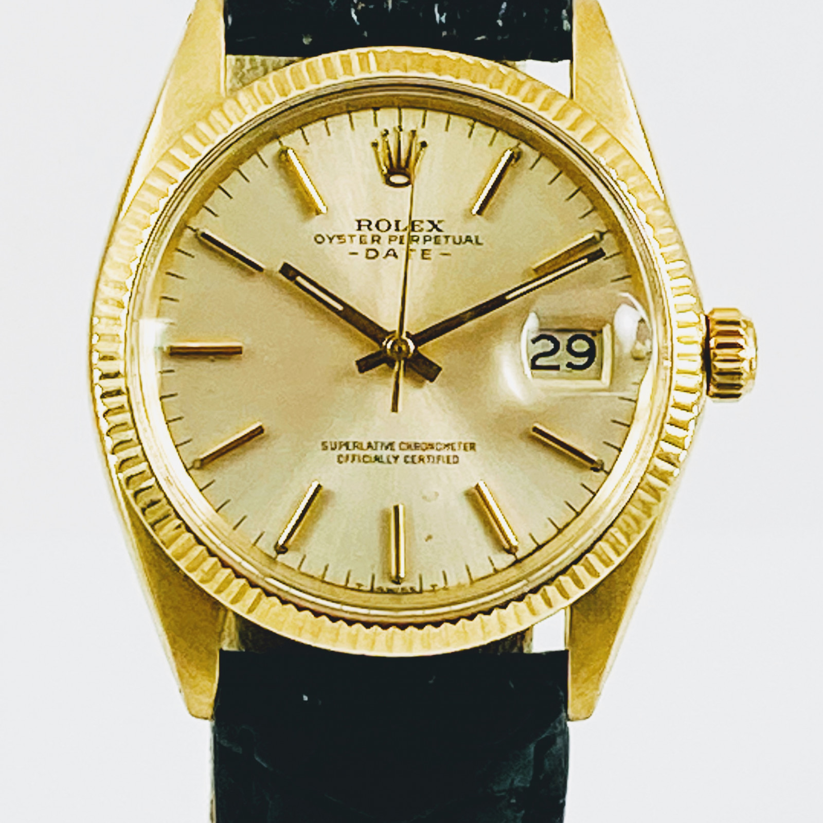 Rolex 1503 Date 14KT Solid Gold