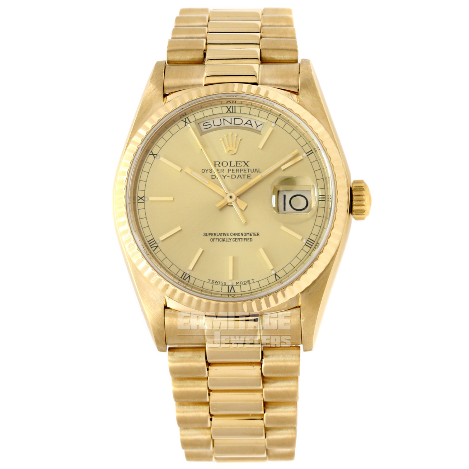 Rolex Day-Date 18038 18KT Gold President