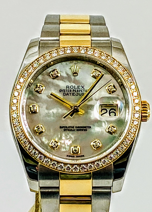 Rolex 116243 Diamond Datejust Certified Factory