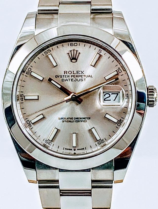 Rolex 126300 Unworn Full Set.
