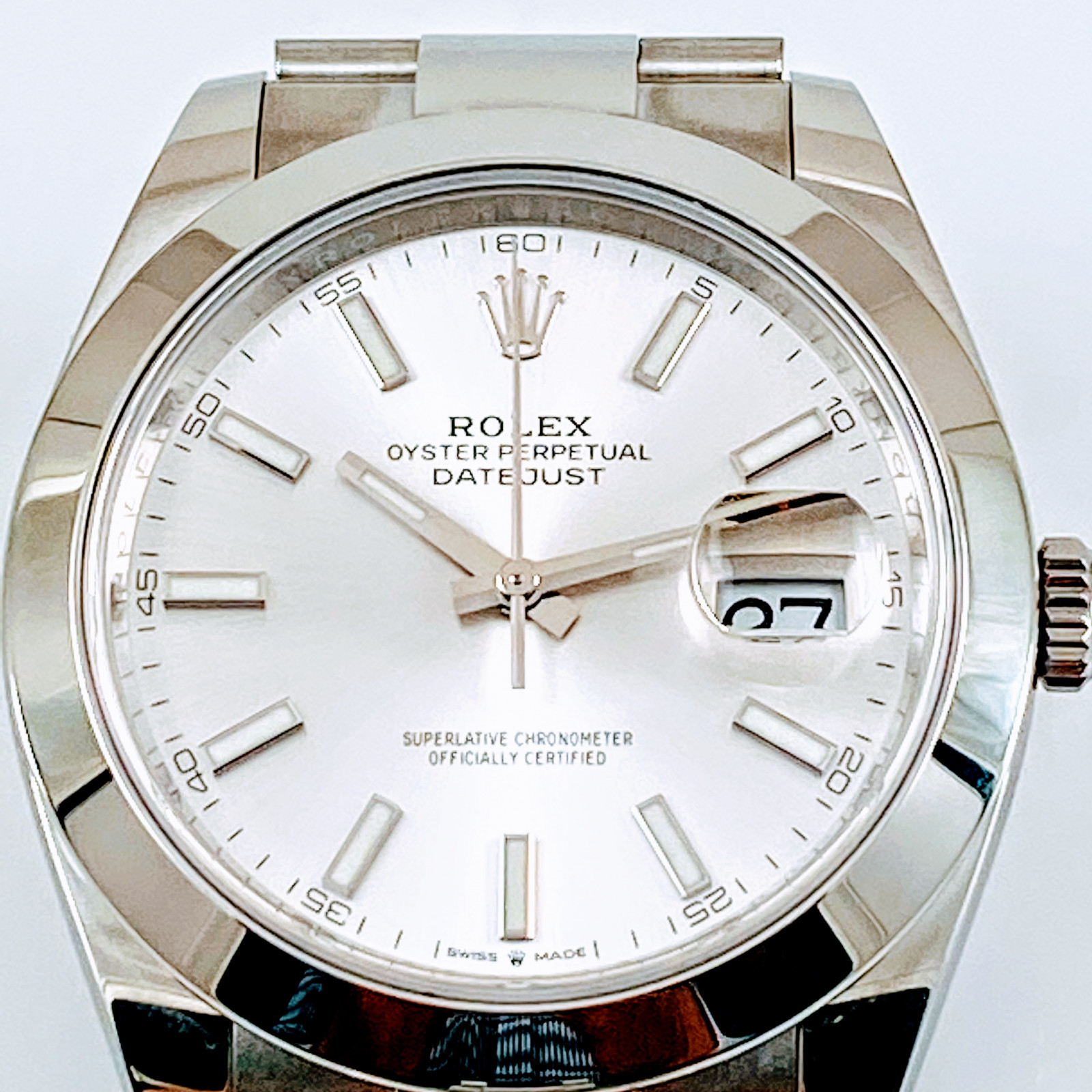Rolex 126300 Unworn Full Set.