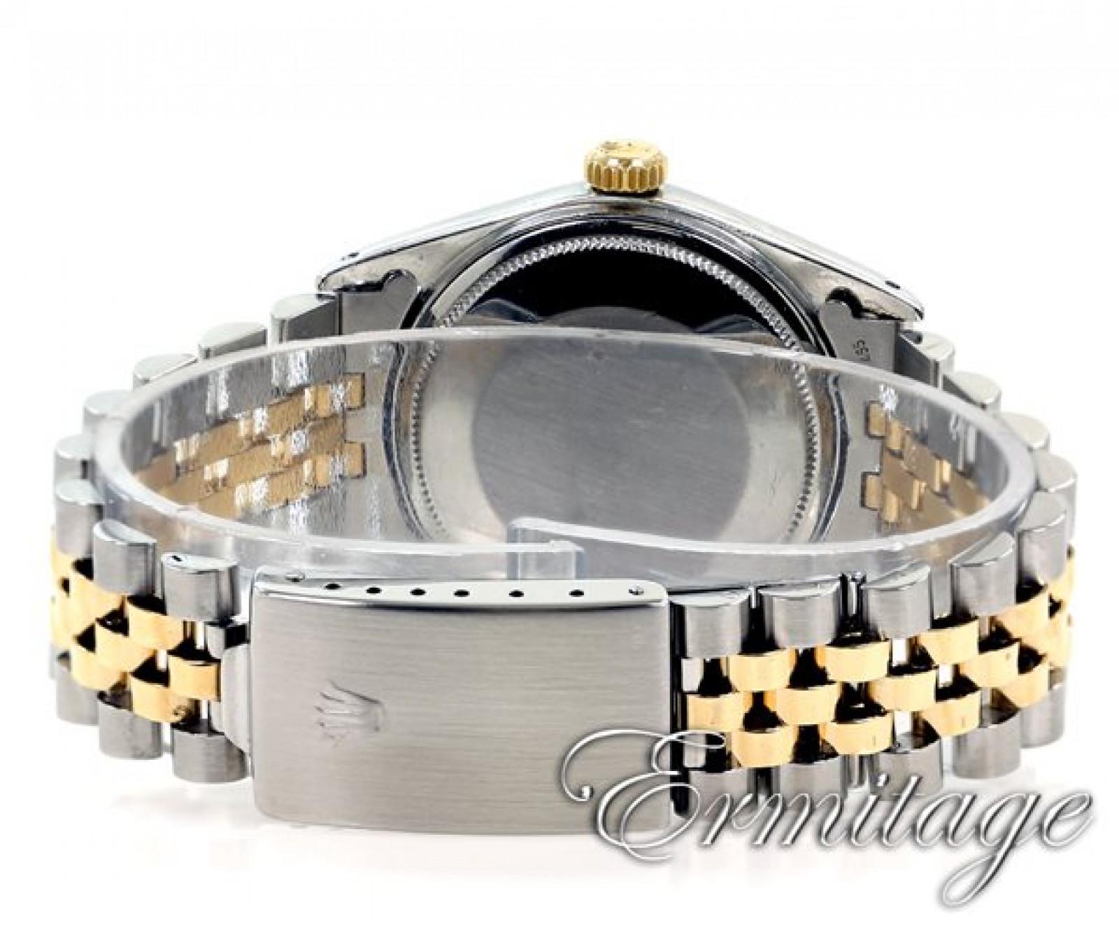 Vintage Rare Rolex Datejust 1601 Gold & Steel Year 1967