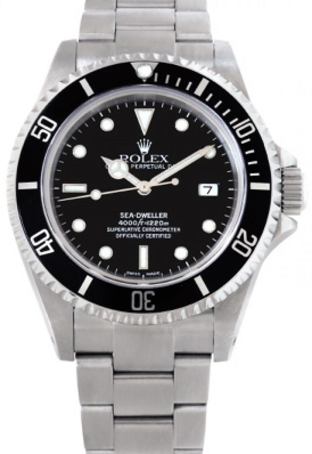 40 mm Rolex Sea-Dweller 16600 Mint Condition