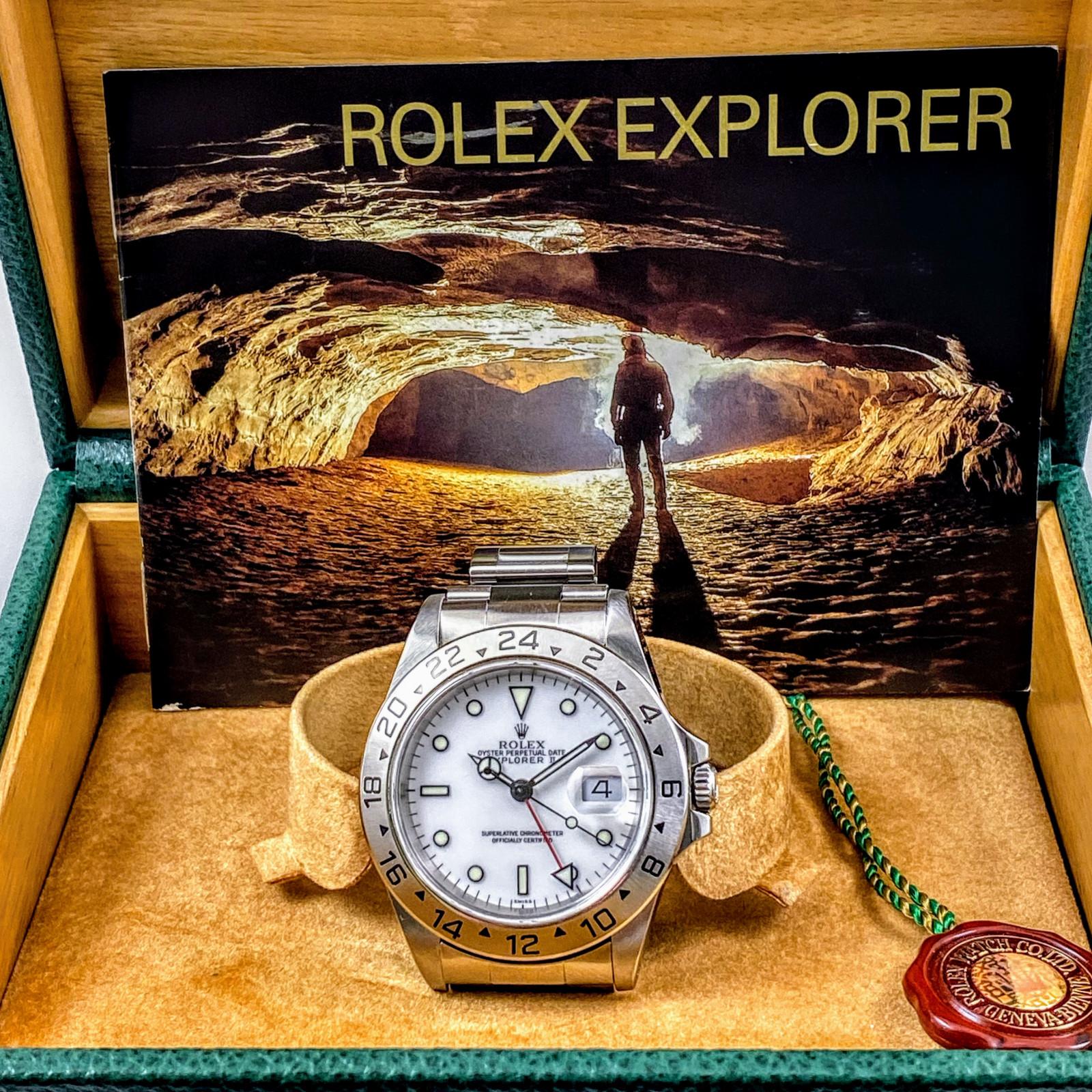 Rolex Explorer II 16570 Polar  Single 'Swiss
