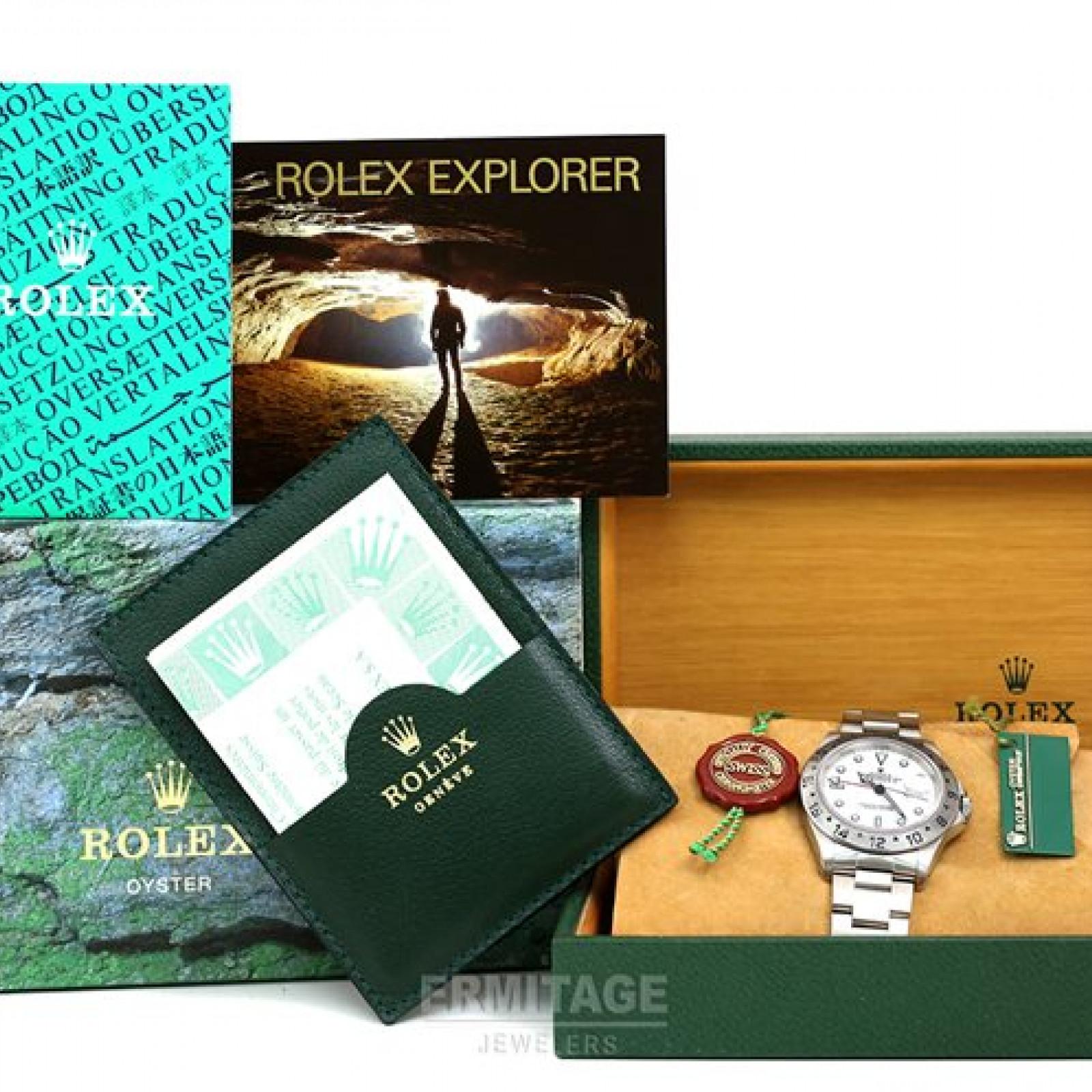 1999 Rolex Explorer II 16570  Polar Single 'Swiss