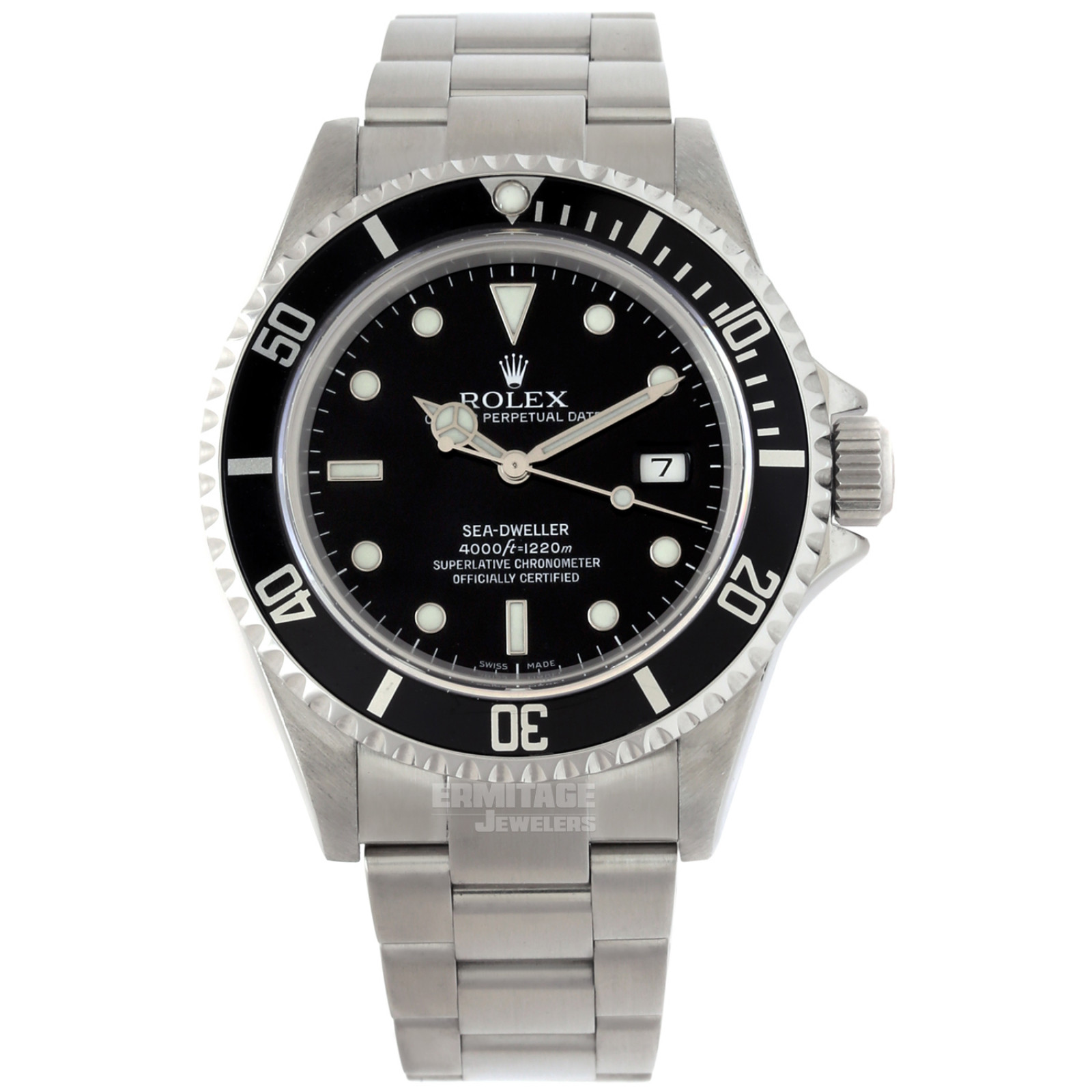 Rolex Oyster Perpetual Sea-Dweller 16600 Steel Year 2003