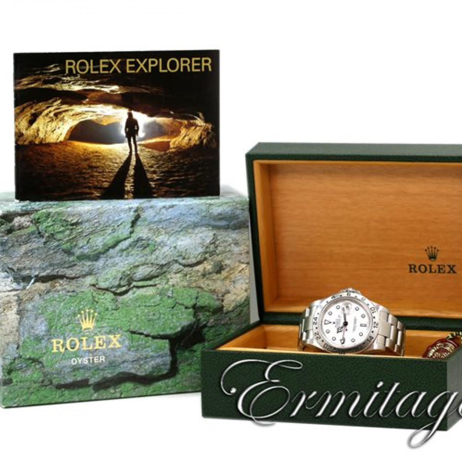 2004 Rolex Explorer II Ref. 16570 40 mm