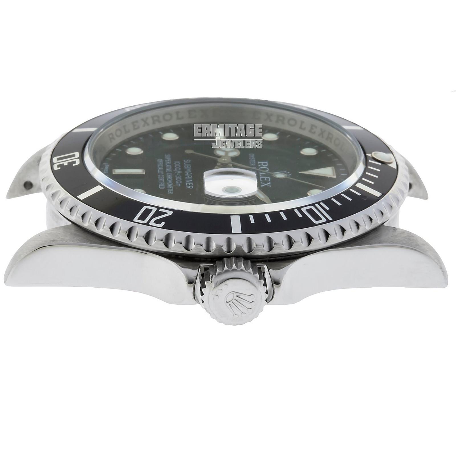 Rolex Submariner Ref. 16610 Engraved Bezel