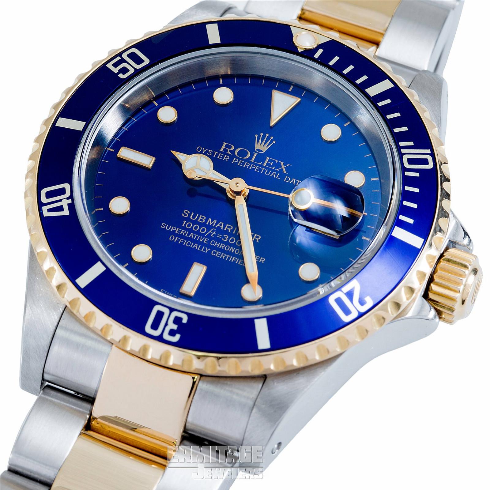 Rolex Submariner 16613 Diving 1000 ft