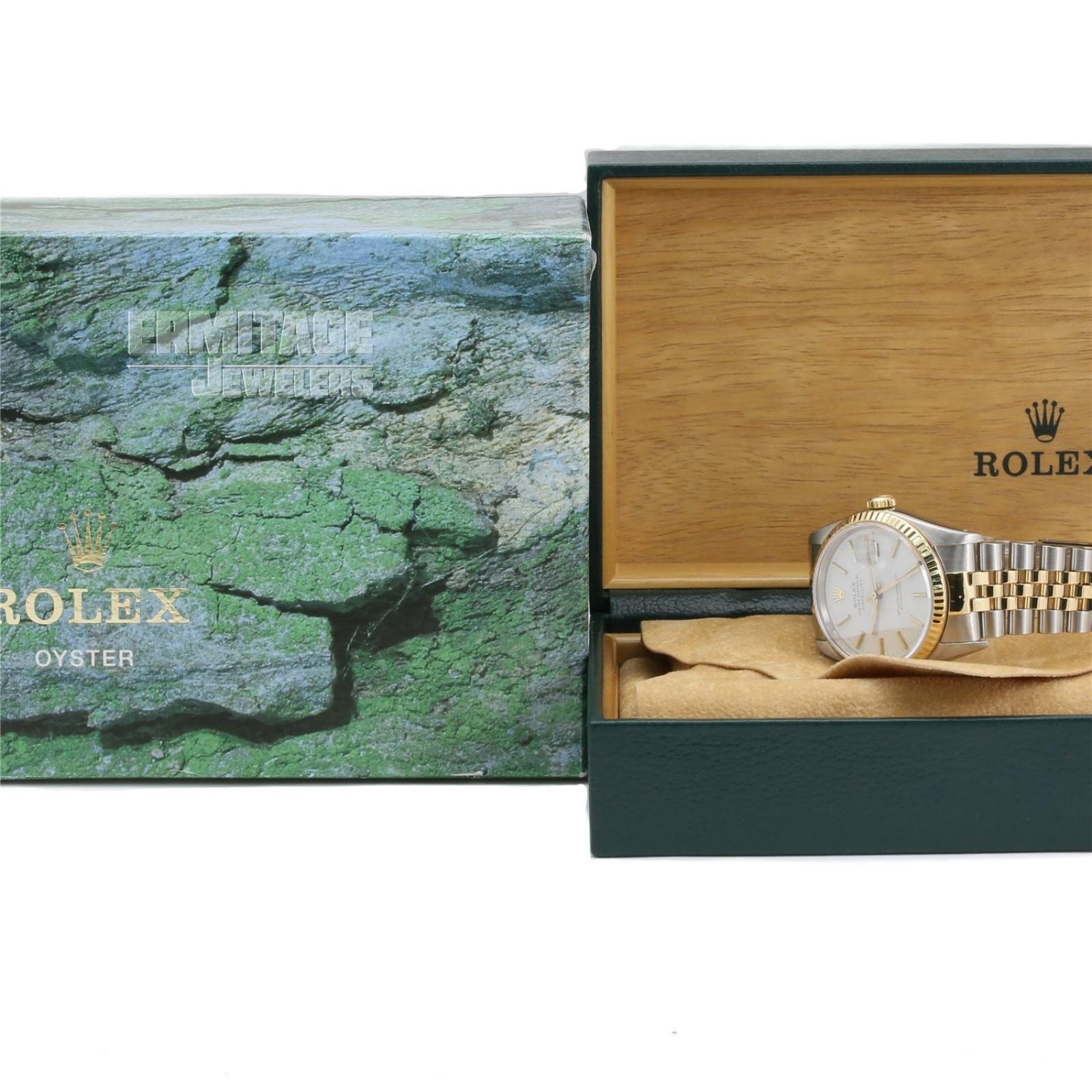 Rolex Datejust 16233  White Dial