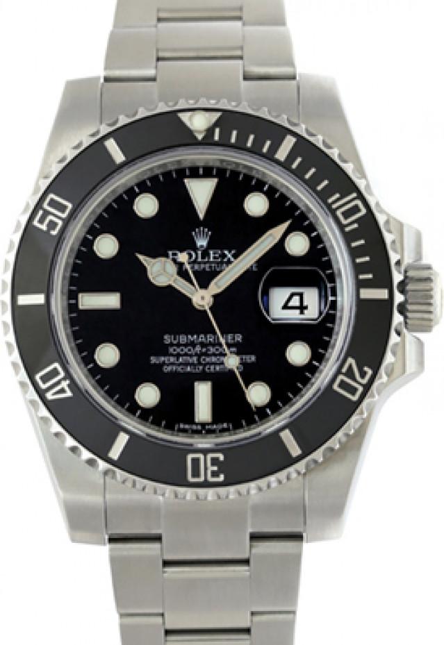 Black Rolex Submariner 116610 Full Set