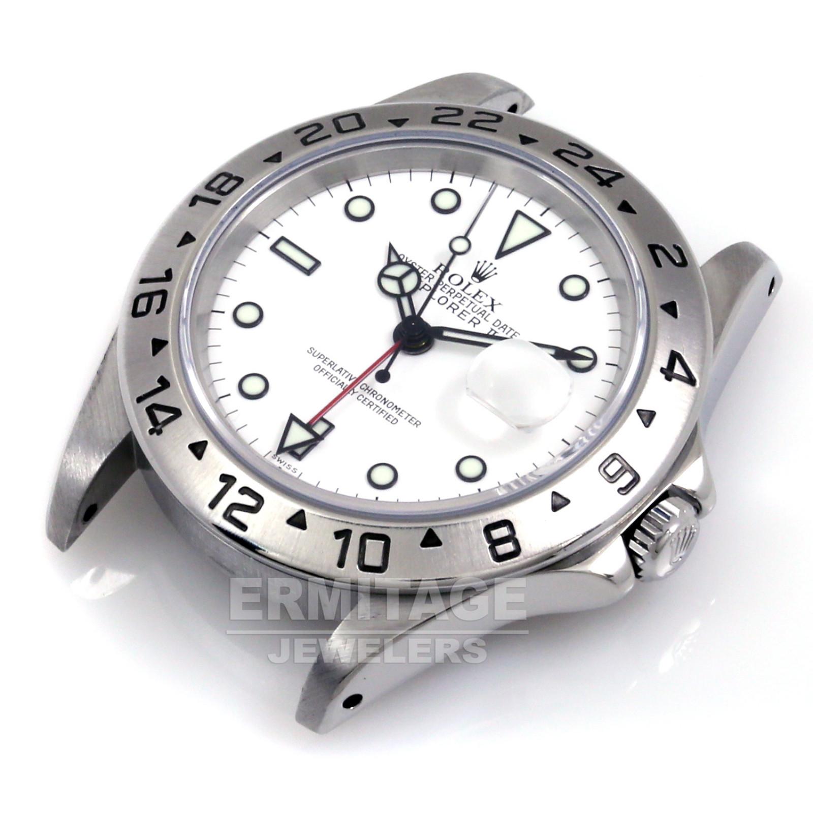 Rolex Explorer II 16570 Polar Single Swiss Dial