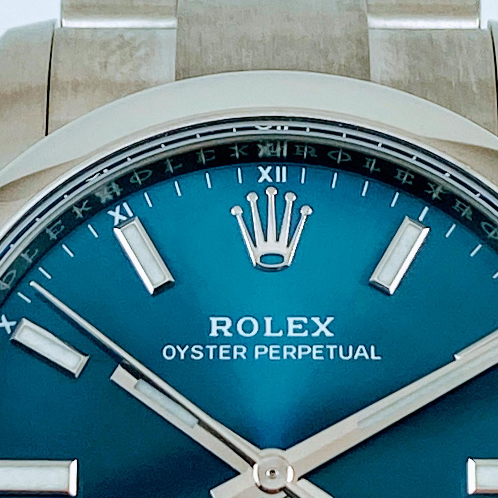 Unworn Rolex 124200 Oyster Perpetual 2021