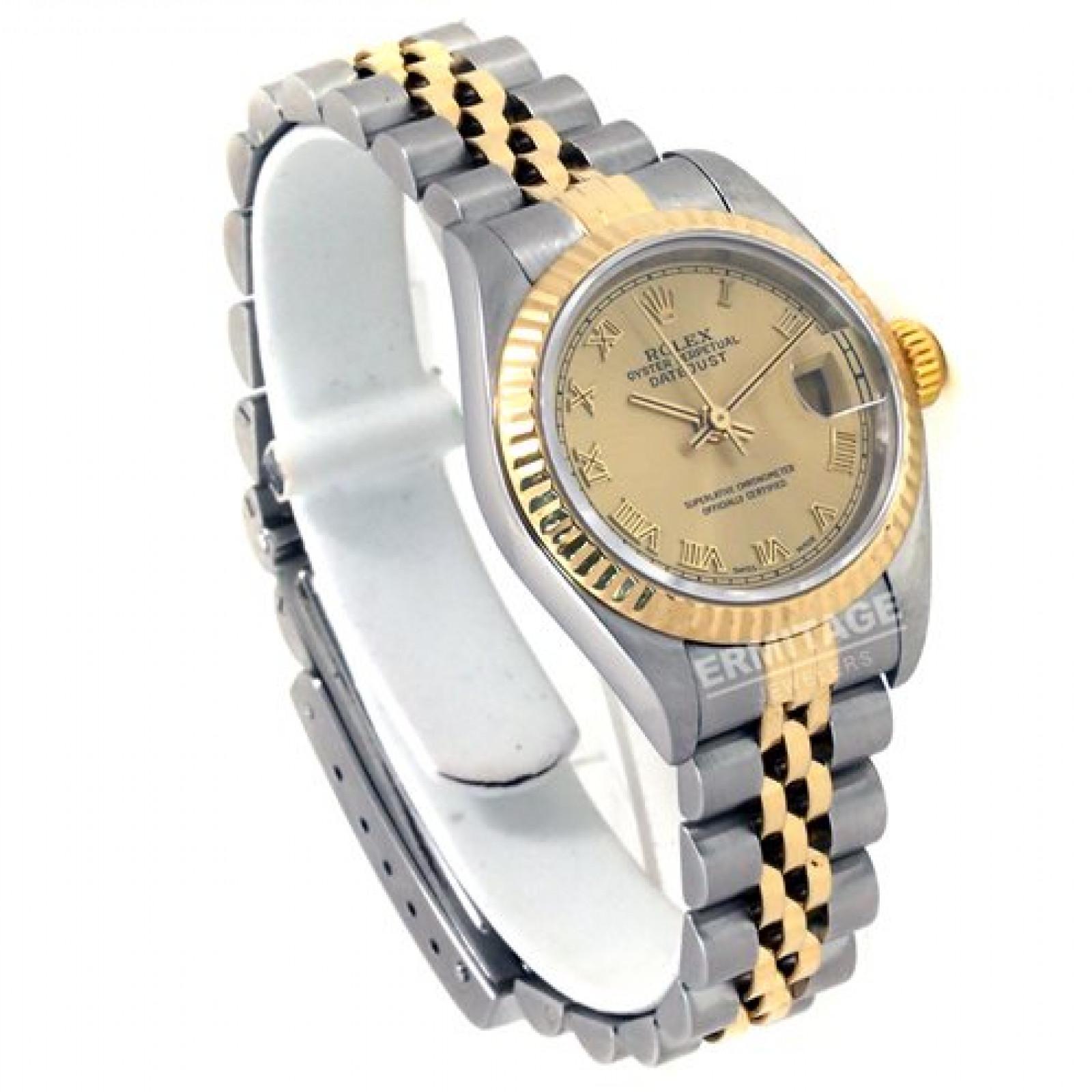 Rolex Datejust 79173 Gold & Steel