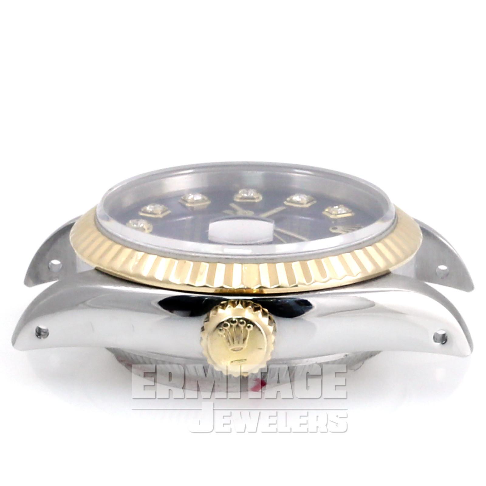 Rolex Datejust 6917  Blue Diamond Dial
