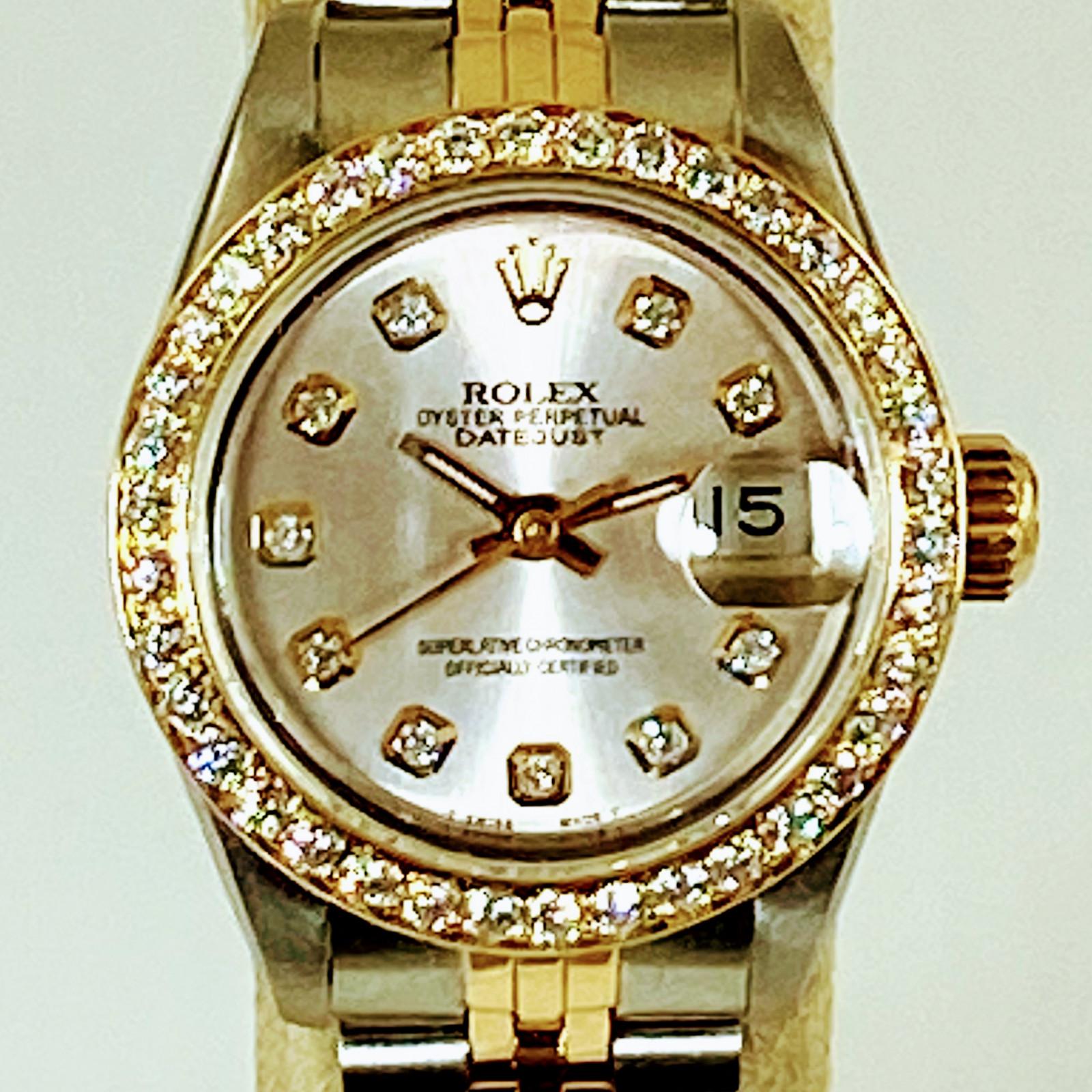 Rolex 69173 Diamond Bezel & Dial