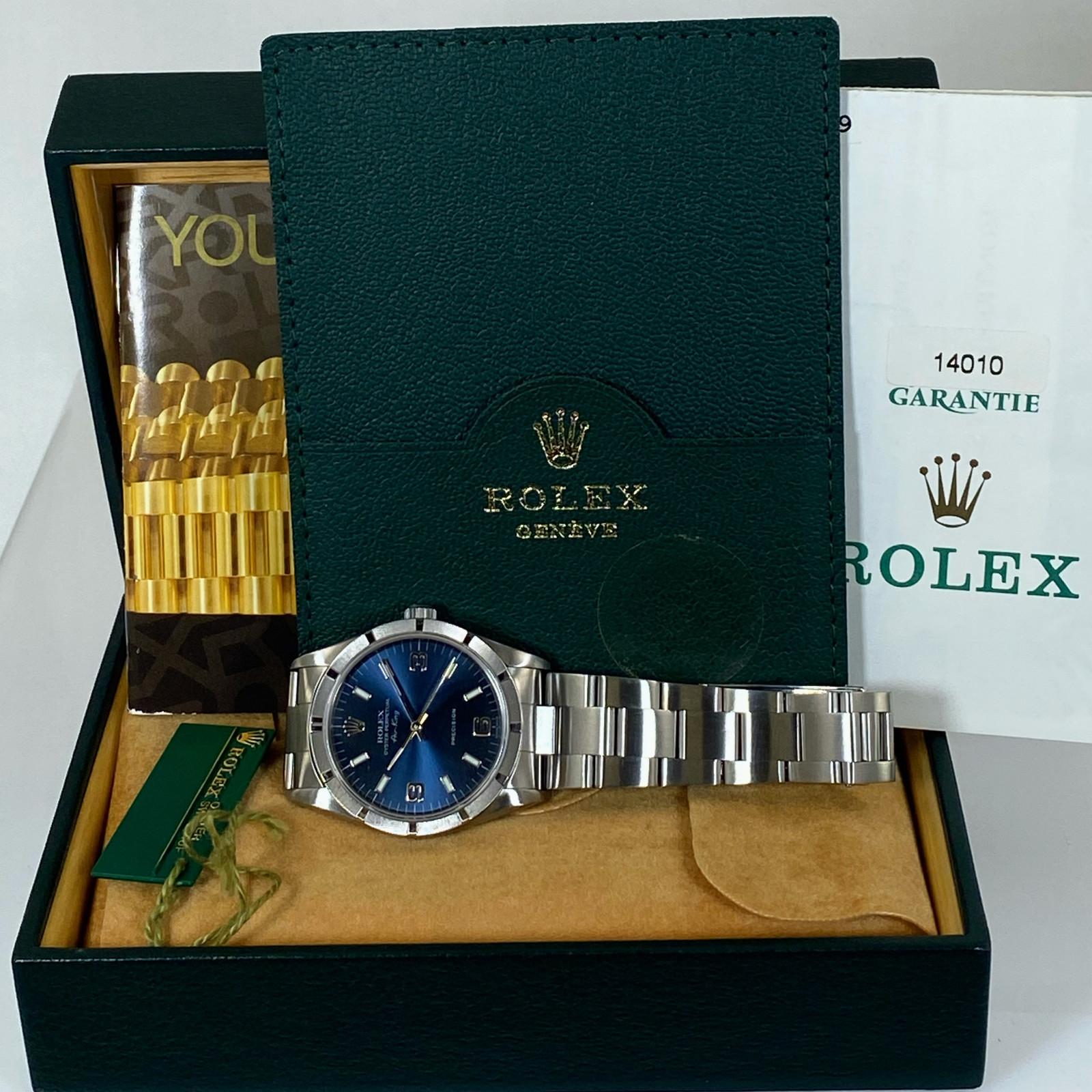 Rolex Air King 14010 Full Set