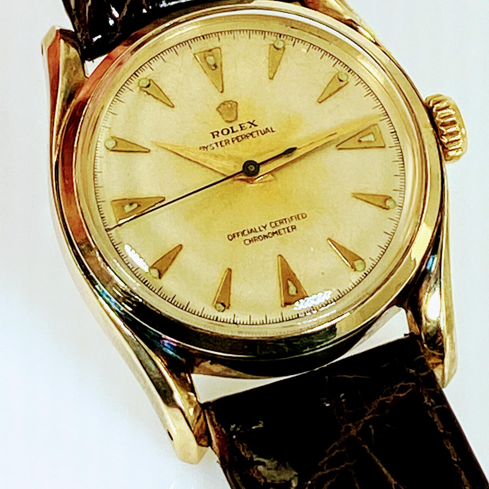 Rolex Model 6018 Gold
