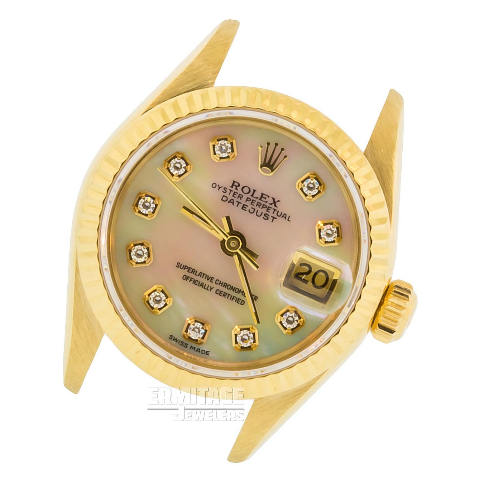 Rolex Datejust 18 KT Gold Model 69178